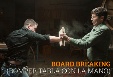 romper tabla con la mano coaching de alto impacto