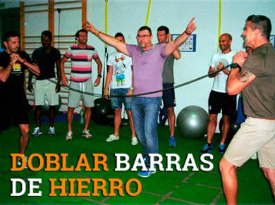 DOBLAR BARRAS DE HIERRO  coaching de alto impacto